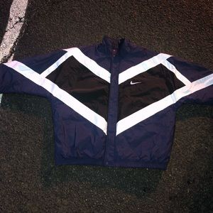 VINTAGE 1990's NIKE BIG SWOOSH COLOR BLOCK COAT